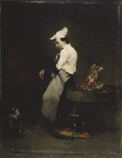 WALTERS: Théodule Ribot (French, 1823-1891): The Young Cook 1855