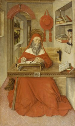 WALTERS: Antonio da Fabriano II (Italian, active 1451-1489): Saint Jerome in His Study 1451