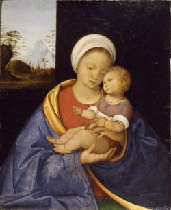 WALTERS: Giovanni Agostino da Lodi (Italian, active ca. 1467-ca. 1524): Madonna and Child 1510