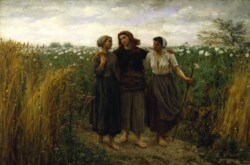 WALTERS: Jules Adolphe Aimé Louis Breton (French, 1827-1906): Returning from the Fields 1871
