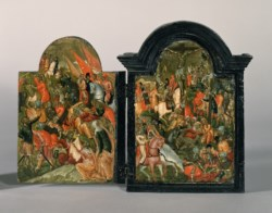 WALTERS: Georgios Klontzas (Greek, active 1603) (?): Scenes of Christ's Passion 1550