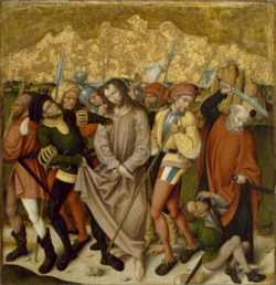 WALTERS: German: Altarpiece with the Passion of Christ: Arrest of Christ 1468