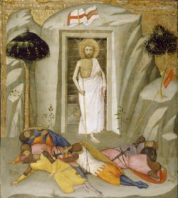 WALTERS: Andrea di Bartolo (Italian, active 1389-1428): The Resurrection 1378