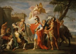 WALTERS: Placido Costanzi (Italian, 1702-1759): Alexander the Great Founding Alexandria 1736