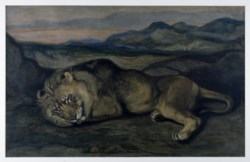 WALTERS: Antoine-Louis Barye (French, 1795-1875): Large Lion 1830