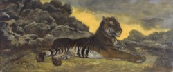 WALTERS: Antoine-Louis Barye (French, 1795-1875): Tiger at Rest 1838