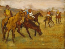 WALTERS: Edgar Degas (French, 1834-1917): Before the Race 1882
