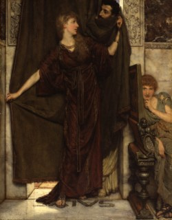 WALTERS: Sir Lawrence Alma-Tadema, R.A., O.M. (Anglo-Dutch, 1836-1912): My Sister Is Not In 1879