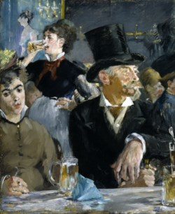 WALTERS: Edouard Manet (French, 1832-1883): The Café-Concert 1867