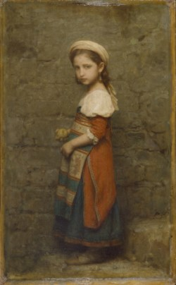 WALTERS: Charles François Jalabert (French, 1819-1901): Italian Girl 1863