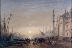 WALTERS: Félix François Georges Philibert Ziem (French, 1821-1911): Constantinople 1863
