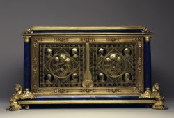 WALTERS: Alfred André (French, 1839-1919): Jewel Casket with Busts of Emperors 1548
