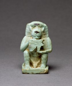 WALTERS: Egyptian: Thoth-Baboon -664
