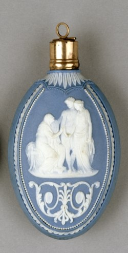 WALTERS: Josiah Wedgwood and Sons (English, 1759-present): Scent Bottle with Mythological Scenes 1775
