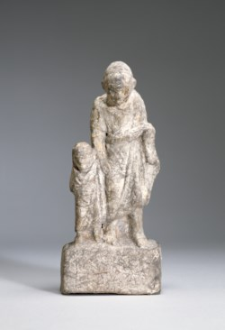 WALTERS: Greek: Pedagogue and Boy -300