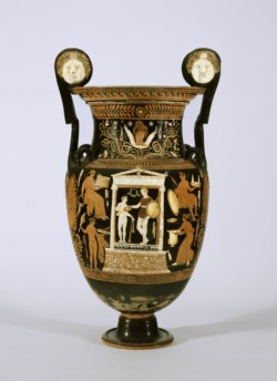 WALTERS: The Painter of Copenhagen 4223 (Greek, active ca. 345 BC-325 BC): Red-Figure Volute Krater -375