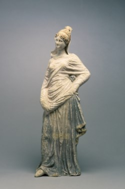 WALTERS: Greek: Standing Draped Maiden -300