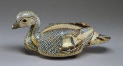 WALTERS: Egyptian: Vase in the Shape of a Duck -300