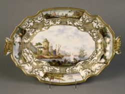 WALTERS: Meissen Porcelain Manufactory (German, active 1710-present): Terrine and Platter 1723