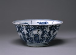 WALTERS: Chinese: Bowl with Deer 1600