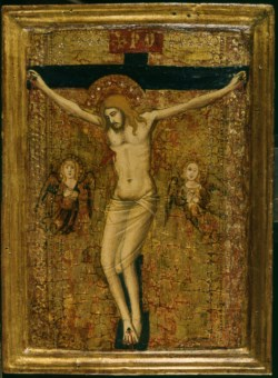 WALTERS: Orcagna (Italian, born 1315-1320, died 1368): The Crucifixion 1350