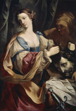 WALTERS: Elisabetta Sirani (Italian, 1638-1665) (?): Judith with the Head of Holofernes 1638