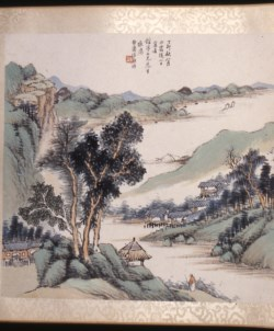 WALTERS: Lu Yingxiang (Chinese, active 19th century): Landscape 1860
