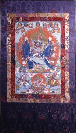 WALTERS: Tibetan: Identification Deity Vajrabhairava with Retinue 1700