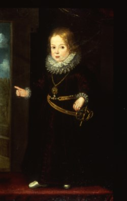 WALTERS: Venetian: Portrait of a Child Prince 1598