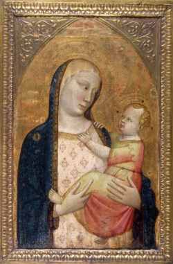 WALTERS: Workshop of Bernardo Daddi (Italian, active ca. 1280-1348): Madonna and Child 1345