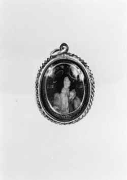 WALTERS: Spanish: Pendant with the Virgin and Saint Teresa of Avila 1613