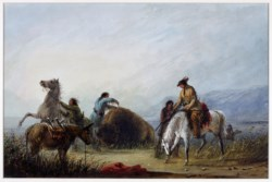 WALTERS: Alfred Jacob Miller (American, 1810-1874): Taking the Hump Rib 1858
