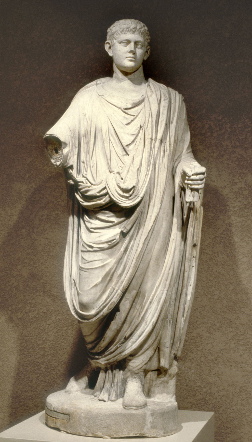 Emperor Wearing a Toga