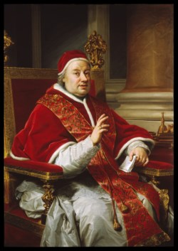 WALTERS: Anton Raphael Mengs (German, 1728-1779): Portrait of Pope Clement XIII 1759