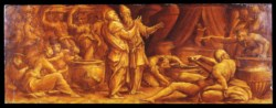 WALTERS: Giorgio Vasari II (Italian, 1511-1574): The Fall of Manna 1533