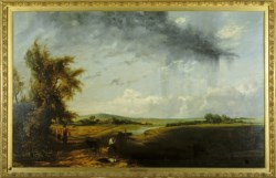 WALTERS: William Collins (British, 1788-1847): A Harvest Shower 1790