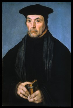 WALTERS: German: Portrait of a Scholar or Preacher 1529