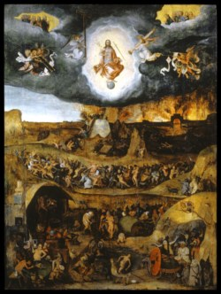 WALTERS: Pieter Huys (Flemish, ca. 1520-ca. 1584): The Last Judgment 1543
