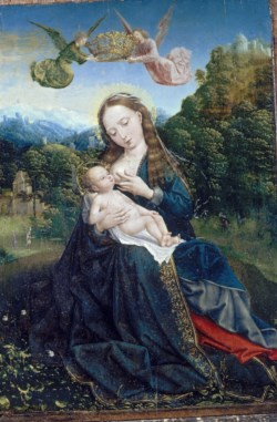 WALTERS: Master of the Mansi Magdalen (Netherlandish, active 1510-1525): Rest on the Flight into Egypt 1515