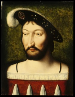 WALTERS: Workshop of Joos van Cleve (Netherlandish, active ca. 1511-d. 1540/1): Portrait of Francis I, King of France 1513