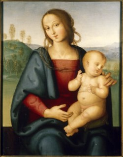 WALTERS: Perugino (Italian, ca. 1450-1523): Madonna and Child 1508