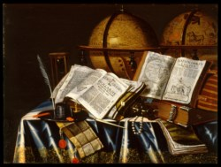 "WALTERS: Adam Bernaert (Dutch, active ca. 1660-1669): ""Vanitas"" Still Life 1653"