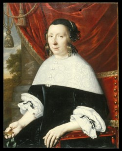 WALTERS: Pieter Nason (Dutch, ca. 1612-1688/1690): Portrait of a Woman 1663