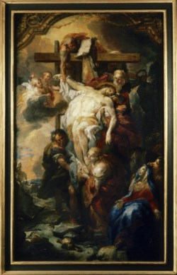 WALTERS: Johann Michael Rottmayr (Austrian, 1654-1730): The Deposition from the Cross 1700
