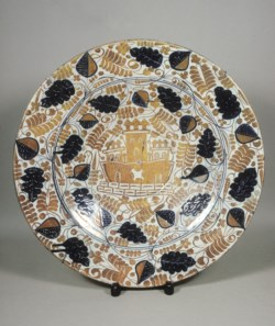 WALTERS: Spanish: Plate with a Castle 1425