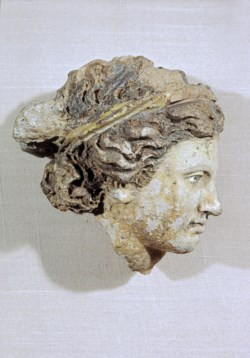 WALTERS: Etruscan: Head of a Woman -400
