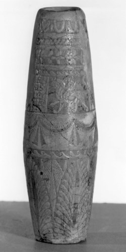 WALTERS: Greco-Egyptian: Vessel with Garlands and Griffins -332