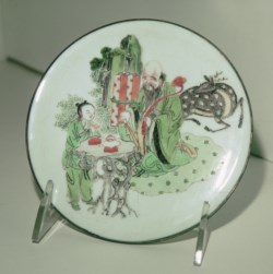 WALTERS: Chinese: Center of a Broken Dish with Shou Lao 1713