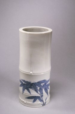 WALTERS: Japanese: Vase in the Form of a Bamboo Stalk 1675