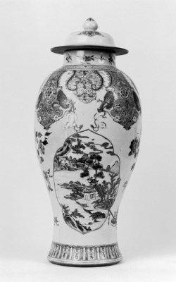 WALTERS: Chinese: Mantle Garniture 1725